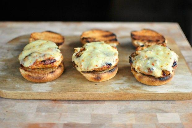 toasted bun + chicken burgers