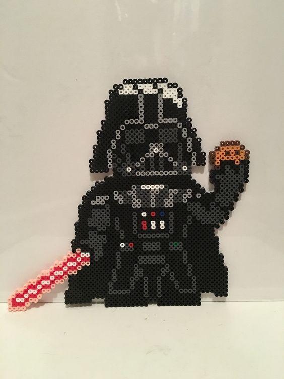 Star Wars : l'empire contre attaque en perles à repasser