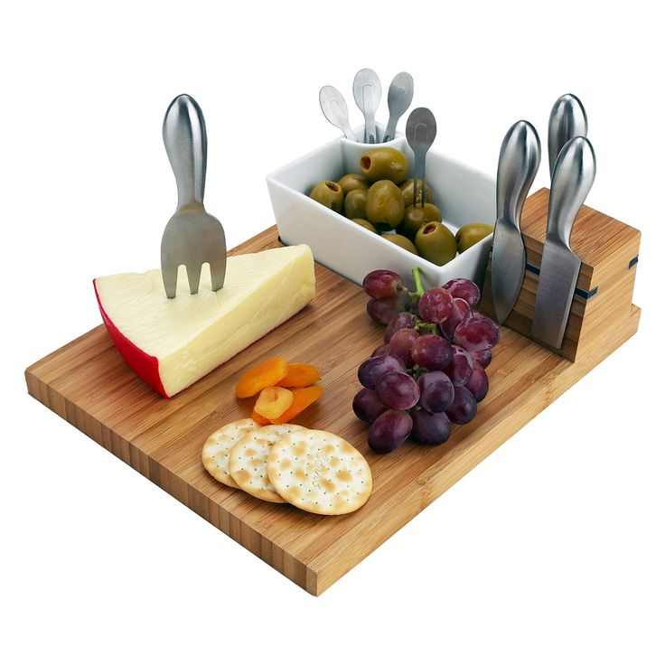 Perfect for the beach or backyard, this cheese board has it all.