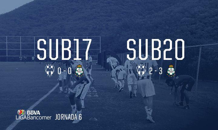 ¡Conoce los resultados de la #Sub20 y #Sub17 en la Jornada 6!: http://www.rayados.com/noticias/8510/dividen_puntos_rayados_y_santos_sub_17