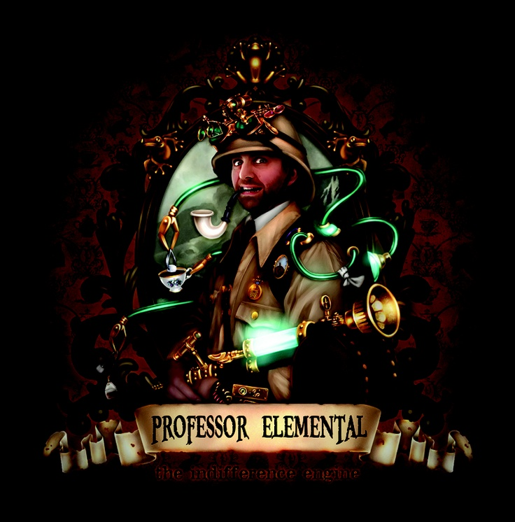 Professor Elemental - British Steampunk Rapper