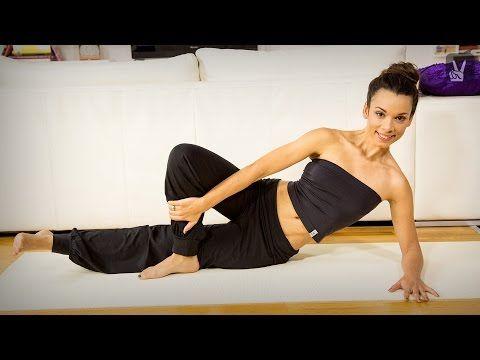 Pilates Lower Belly: Übungen für den unteren Bauch! - YouTube