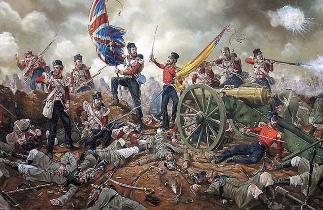 The battle of Alma 1854, Crimean war