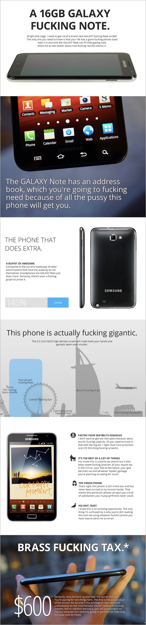Best Craigslist Post Ever, for a Used Samsung Galaxy Note, Actually Isn't | Adweek