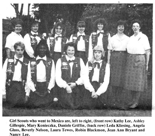 South Belt Houston Digital History Archive: 1988 Girl Scouts go to Mexico