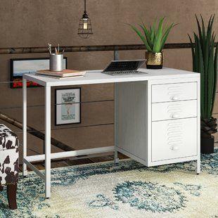 Dual White Desks | Wayfair