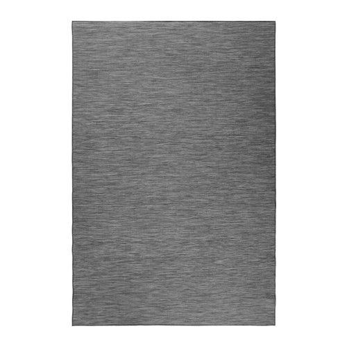 HODDE Rug flatwoven, in/outdoor IKEA Durable, stain resistant and easy to care for since the rug is made of synthetic fibers.