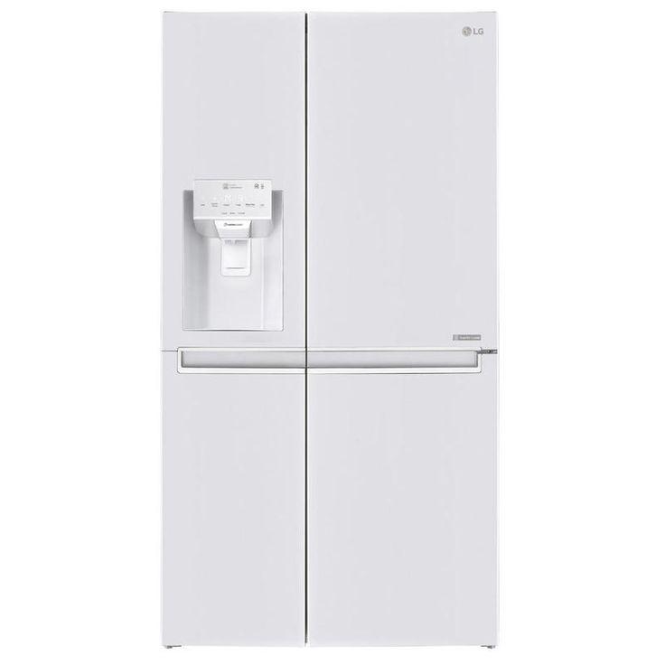 Estupendo frigorífico americano de LG que cuenta con funciones de dispensador de agua + hielo + hielo picado junto a su función desodorizante