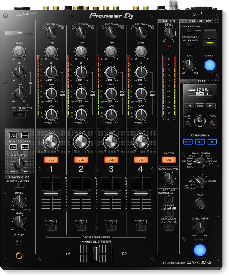Pioneer DJM-750MK2 (8/2017)