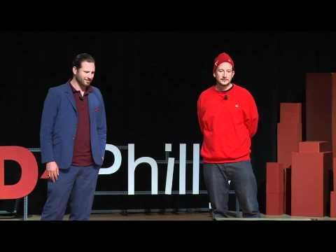 "discussion: ""Can art change the world? Can art change how people think about people/places/things/ideas?""      Painting Brazil Slums - TEDxPhilly - Jeroen Koolhaas & Dre Urhahn - Creating a New Narrative for Place with Paint"