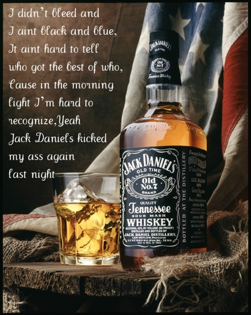 Eric Church - Jack Daniels hahaha! pretty much my thoughts ever damn morning!