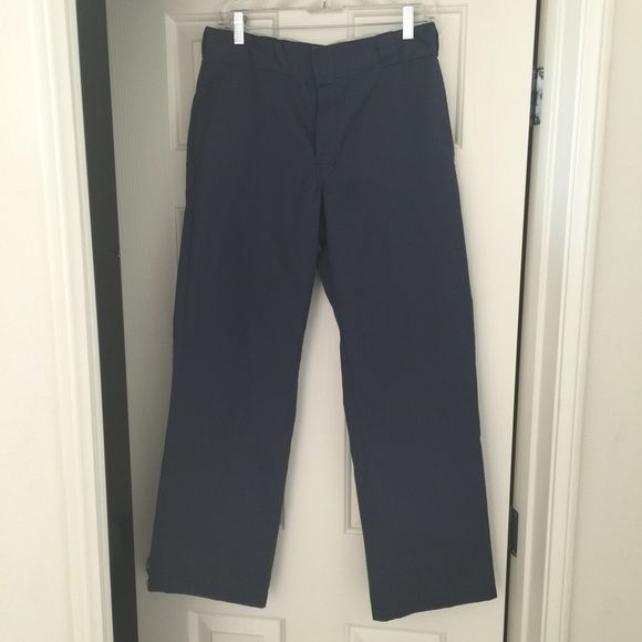 Men's blue Dickies work pants Men's size 32x30 874 original fit dickies work pants. NWOT. I bought them for my son for his school dress code and he didn't fit them! Dickies Pants