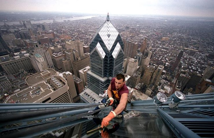 extreme window cleaning