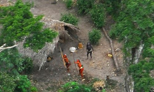 They shoot arrows at metal birds... The strange mystery of North Sentinel Island. http://coolinterestingstuff.com/the-strange-mystery-of-north-sentinel-island