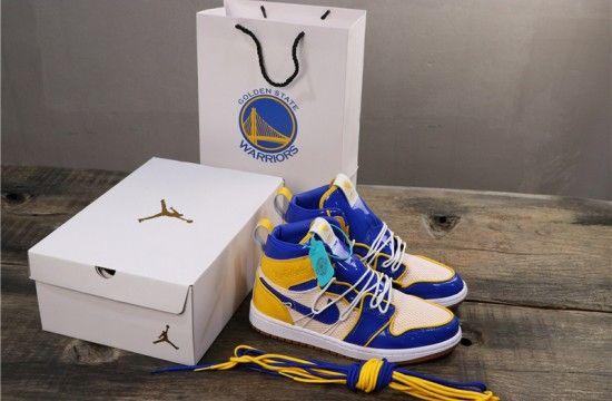 Air Jordan 1 Golden State Warriors
