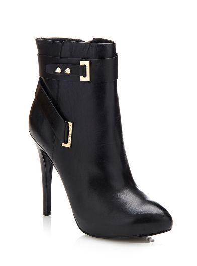 Shanda low leather Boot