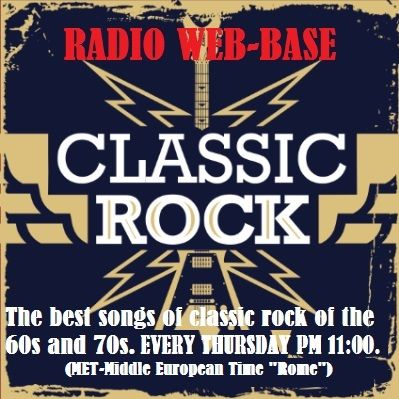 "http://radio-web-base.webnode.it/music-space/ The best songs of classic rock of the 60s and 70s. Ogni giovedì su RADIO WEB-BASE dalle ore 23:00 (MET-Middle European Time ""Rome"")"