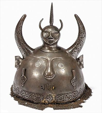 Persian helmets, Qajar period