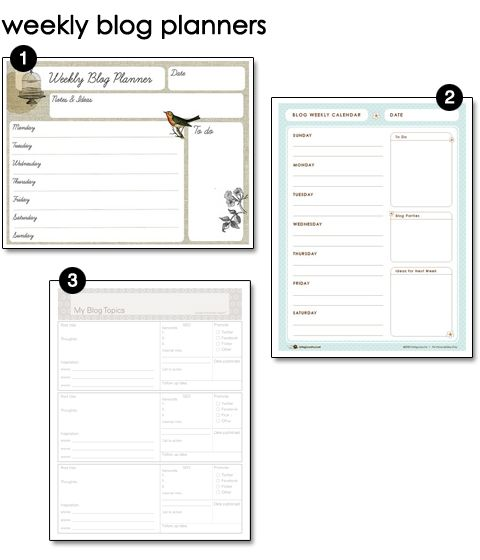 15 best images about sumthin creative on pinterest free printable weekly blog planners and other free printables fandeluxe Image collections