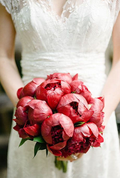 Cherry Red Wedding Bouquet. Still one of my all time favorite photos!!