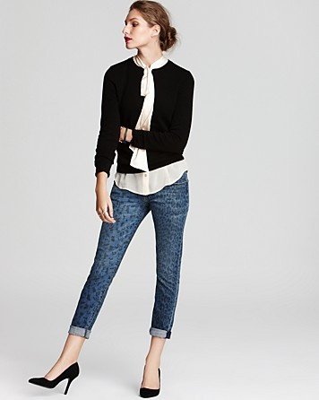 C by Bloomingdale's Cashmere Long Sleeve Crew Neck Sweater ...