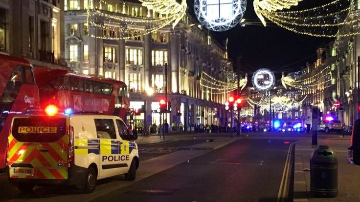 Police are responding to reports of an incident at Oxford Circus and urge people to avoid the area.