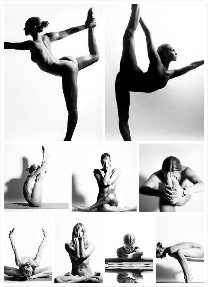 Ins Nude Yoga Girl