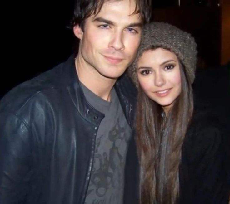 Ian Somerhalder and Nina Dobrev... can you please get married?!?!