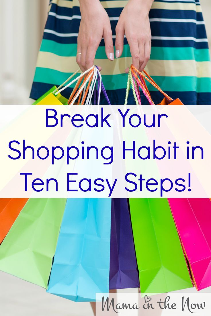 Break Your Shopping Habit in Ten Easy Steps! Proven strategy to stop spending, start reducing debt and be on your way to financial freedom! Frugal living at its finest! Awesome tips from a financial professional! # 3 and # 7 are SUPER!