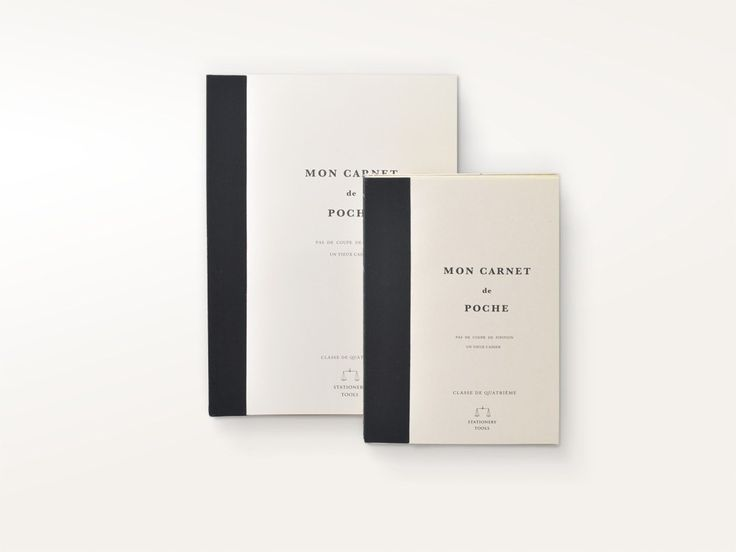 Vintage Notebook Mon Carnet de Poche – Jenni Bick Bookbinding