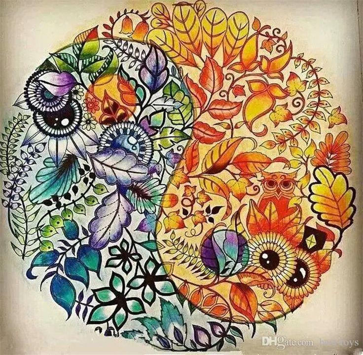 Ms De 25 Ideas Increbles Sobre Johanna Basford En Pinterest