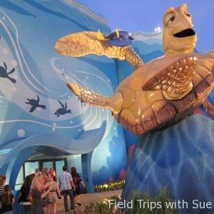 The Art of Disney Animation Hotel lets you stay Under the Sea. Kids love the Murphy bed too!