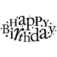 happy birthday stamp - Google zoeken
