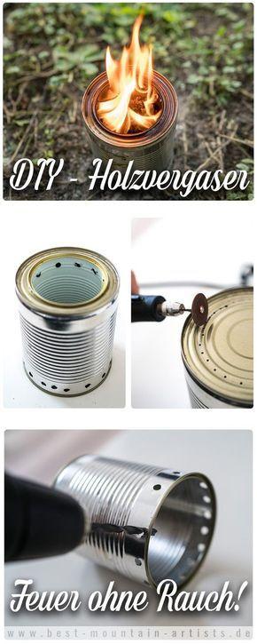 Gear of the Week #GOTW KW 42 | DIY-Holzvergaser | Effizient und ohne Rauch | do-it-yourself-Holzvergaser | Selbstbau-Hobo-Ofen | Hobokocher