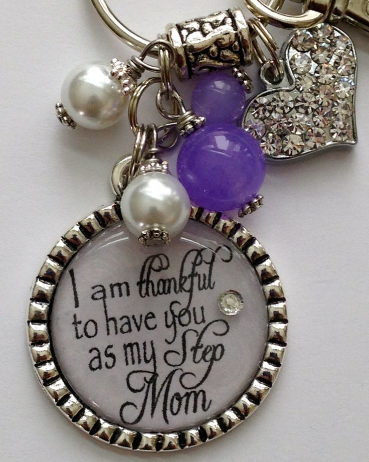 I am thankful to have you as my Step Mom necklace by TrendyTz