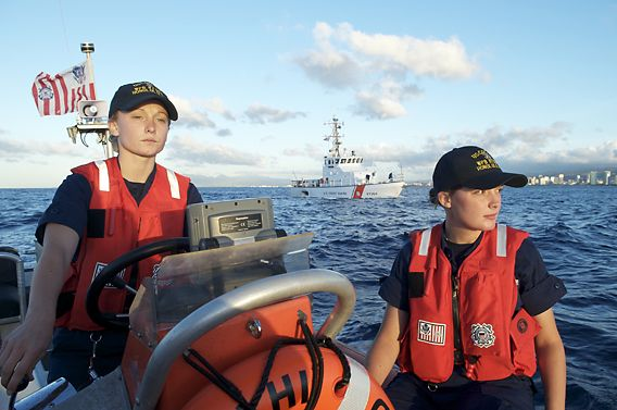 Women in US Coast Guard