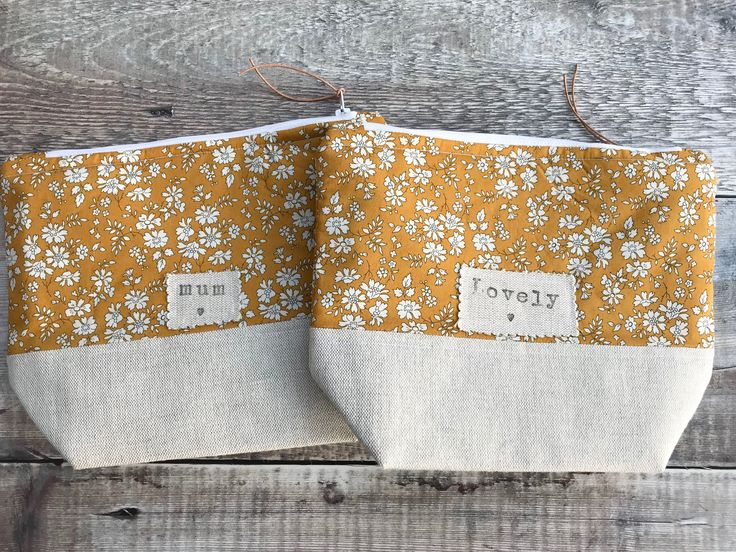 Newest additions to my #etsy shop: Liberty Mustard Capel Bag, Make up bag, Cosmetic bag, Project bag, Hobby bag, Liberty Capel, Zipper bag, Knitting bag, Knitting, Hobbies http://etsy.me/2F3n6iL #bagsandpurses #makeupbag #cosmeticbag #projectbag #ho