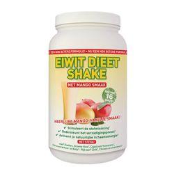 Hooggedoseerde African Mango Eiwit Shake met waanzinnige mango-vanille smaak. Stimuleerd de stofwisseling, is sterk eetlustremmend. Gezoet met Stevia.