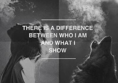 grafika quote, wolf, and difference