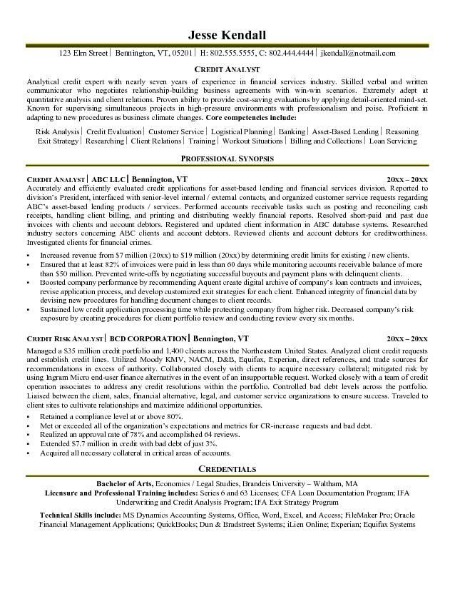 9 best My future images on Pinterest Resume examples, Sample - banker resume example