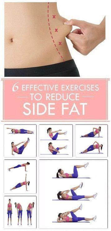 If that stubborn side fat won't seem to budge, fear not you can shrink your love handles and saddlebags with diet and exercise. While there are no exercises that specifically target the fat on your sides or anywhere else on your body, losing weight will make your side area thinner along with the rest of your figure. In addition, the right strength-training moves will add definition and make your waist, trunk and hips appear tighter. 1. Bicycle Crunches: The bicycle crunch is an excellent…