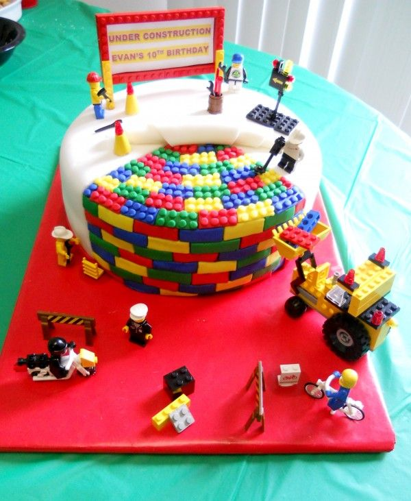 LEGO Cake Ideas How To Make A LEGO Birthday Cake Birthday Cakes - Lego birthday cake decorations