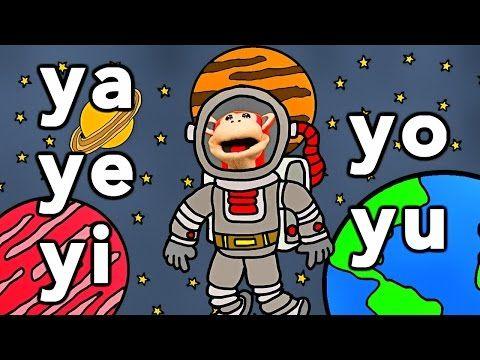 Sílabas ma me mi mo mu - El Mono Sílabo - Videos Infantiles - Educación para Niños # - YouTube