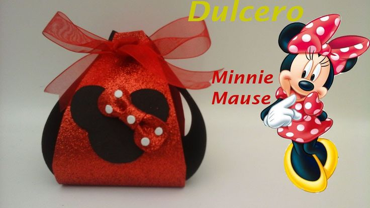 147 best images about minnie mickey on pinterest - Manualidades minnie mouse ...