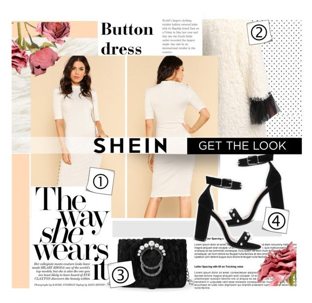 """White and black outfit."" by zeljkaa ❤ liked on Polyvore"
