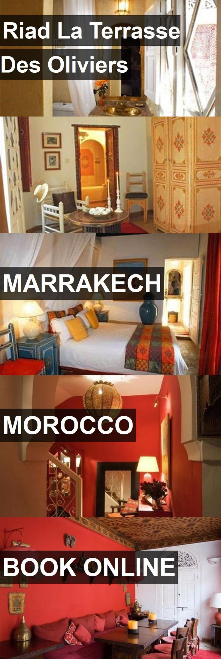 Hotel Riad La Terrasse Des Oliviers in Marrakech, Morocco. For more information, photos, reviews and best prices please follow the link. #Morocco #Marrakech #travel #vacation #hotel