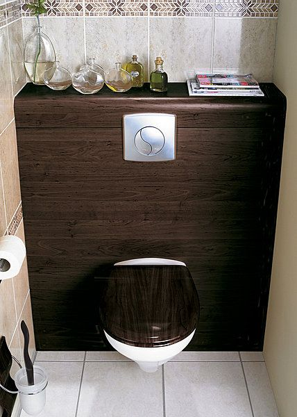 73 best WC images on Pinterest Home ideas, Bathroom and Bookshelves - Comment Decorer Ses Toilettes