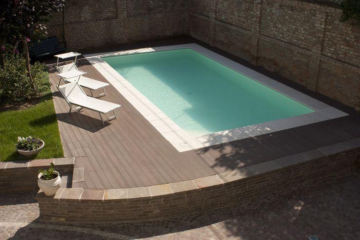 Pi di 25 fantastiche idee su piscina in cemento su for Clorazione piscine
