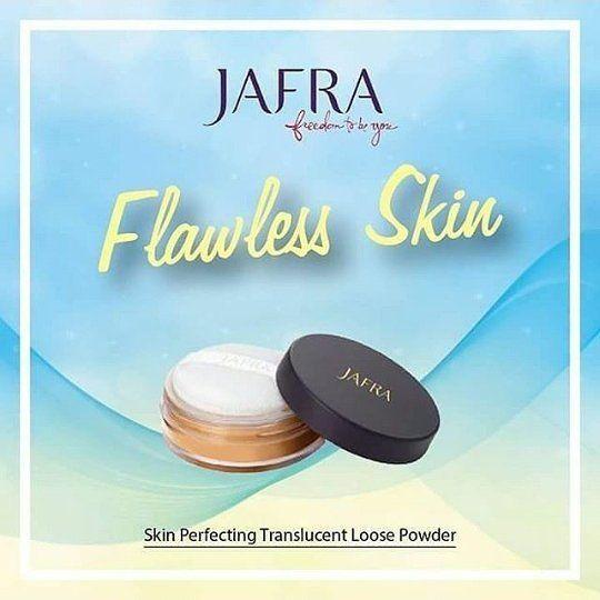Skin Perfecting Translucent Loose Powder (Bedak Tabur)  Bedak halus untuk tampilan sempurna untuk semua jenis kulit dan warna kulit.Teknologi soft-focus menyamarkan garis2 halus dan ketidaksempurnaan wajah.menjaga makeup anda tahan lama.. #jafra #jafraindonesia #jafrakalimantanbarat #jafrapontianak #konsultanjafrapontianak #jaframempawah #jafrasingkawang #jafrasambas #jaframelawi #jafrasanggau #jaframurah #kosmetikherbal #royaljelly #skincareaman #mua #borneo #mpasi #kalbar #kosmetikori…