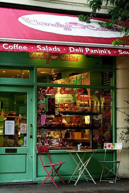 Candy Cakes, Monmouth St, London